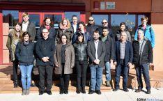 Técnicos del proyecto en Lubia.