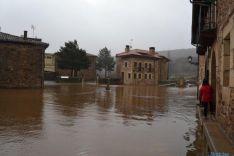 Inundaciones en Salduero y río Revinuesa