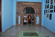 Ambiente romano en el Santa Teresa de Jesús este viernes. / SN