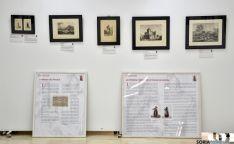 Imagen de la exposición en Soria./Jta.