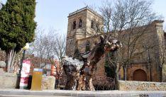 El olmo en las cercanías de la iglesia del Espino. / SN