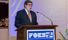 Santiago Aparicio, presidente de FOES. / SN