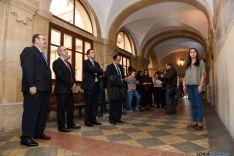 Imagen de la inauguración de la muestra. / SN