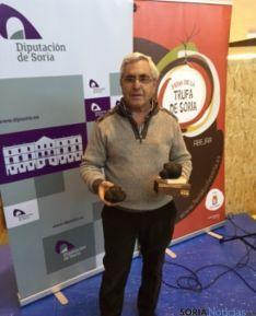 Ganador del concurso 'La trufa más grande'. /@Trufa Soria