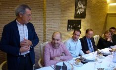 Tomás de Francisco en la presentación, junto a David Santiago