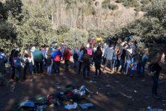 Imagen del monte en Los Royales este jueves./SN