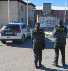 La Guardia Civil vuelve a intervenir en el hotel La Reserva