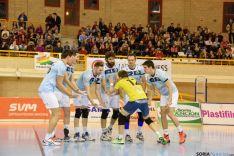 Foto 2 - Rio Duero dedica su victoria ante el Electrocash (3-1) a Diego Barranco