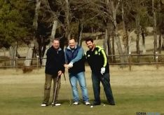 Participantes en el trofeo de golf de Rioseco