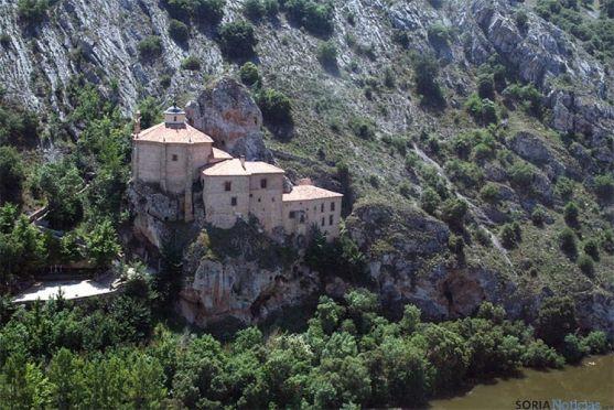 Ermita de San Saturio, uno de los monumentos más visitados de la ciudad.