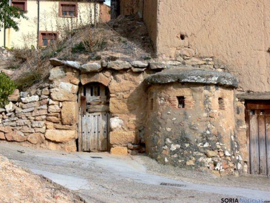 Una de las bodegas de San Esteban de Gormaz.