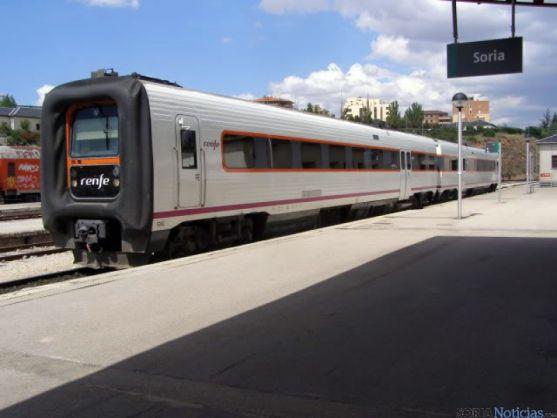 El trayecto Soria-Madrid necesita tres horas.