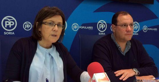Marimar Angulo y Pedro Antonio Heras este viernes.