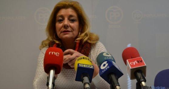 Ascensión Pérez, portavoz del PP