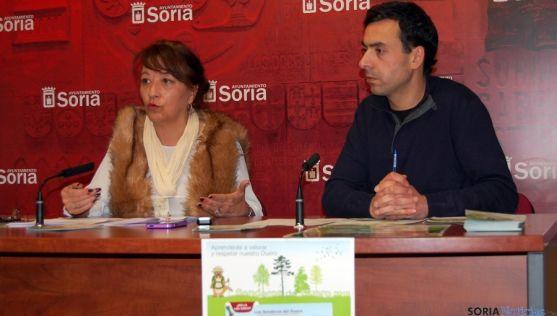 Lourdes Andrés y Fernando Baena. / Ayto.