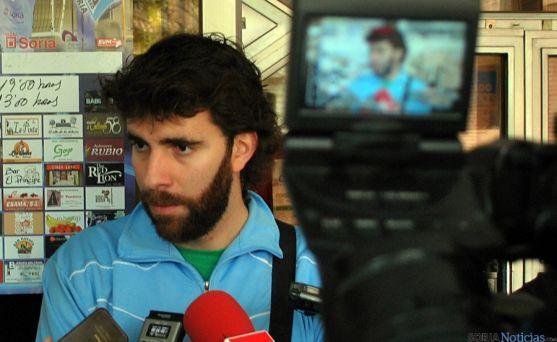 Manu Sevillano, entrenador del Río Duero San José. / SN