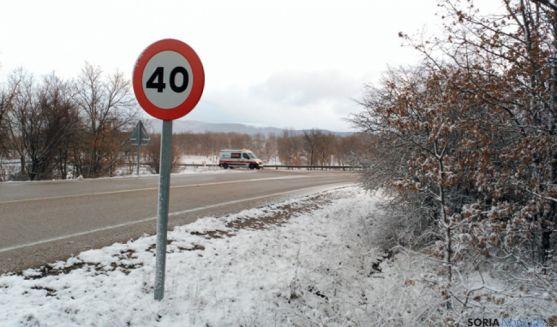 Cruce de la N-234 con Fuentetoba