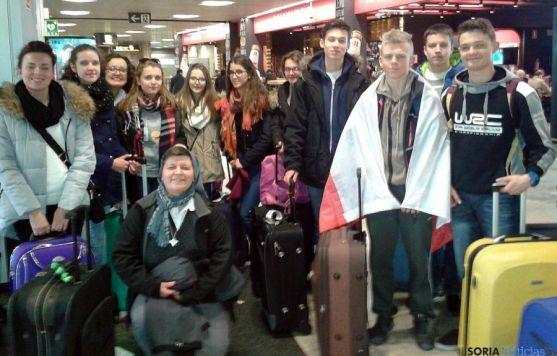 El grupo, antes de la vuelta a su país./SN