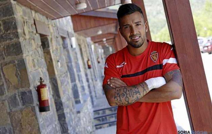 Jorge Díaz ha sido cedido al Numancia por el Zaragoza