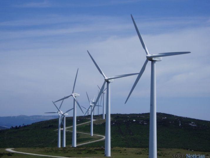 Soria es la segunda provincia de la región con más parques eólicos.