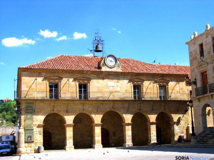 Centro cultural Palacio de la Audiencia.