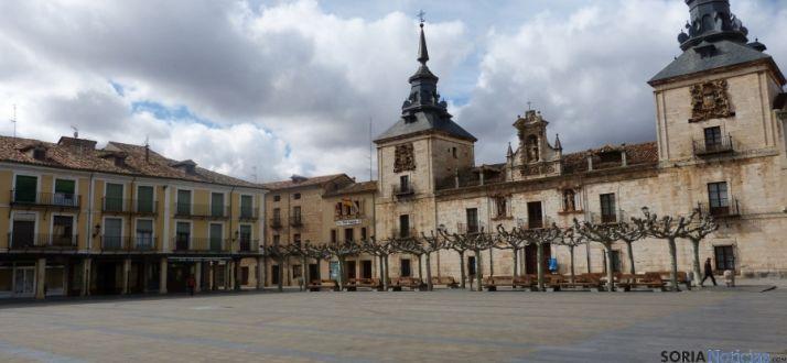 Plaza Mayor de El Burgo de Osma.