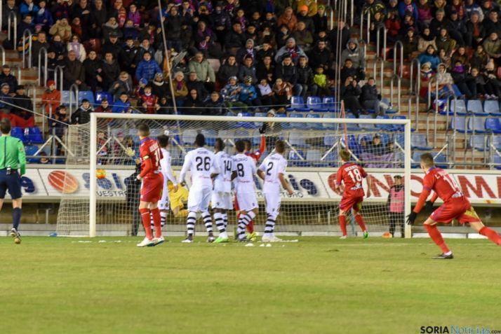 El Numancia gana, con dos goles de Julio Álvarez, al Mallorca