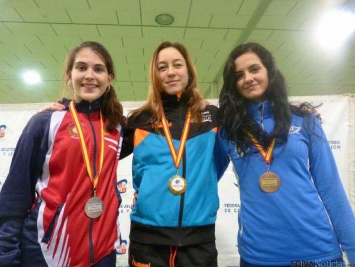Raquel Álvarez, campeona en salto de altura.