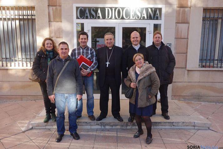 Nuevo equipo de dirección de Cáritas Diocesana.