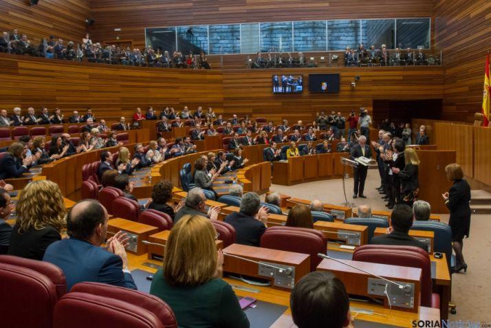 Herrera ha defendido a las diputaciones en la celebración del Estatuto de Autonomía de la región.