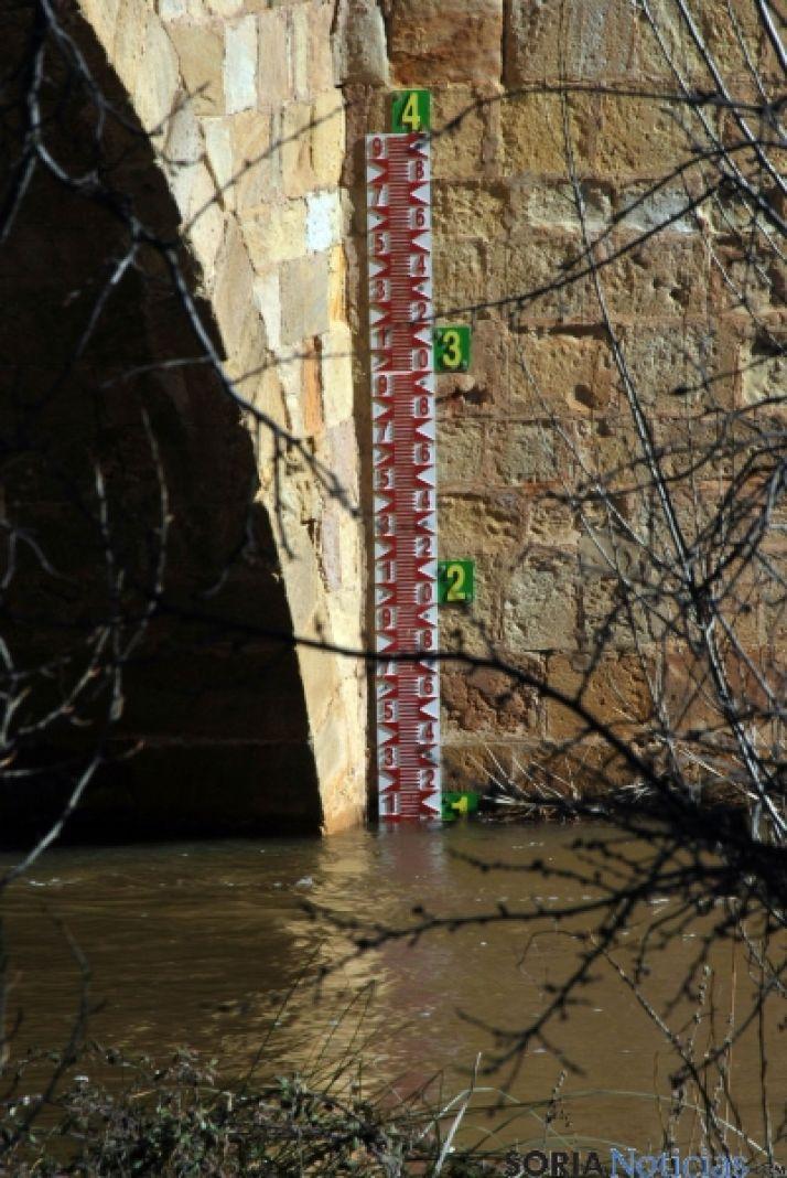 Las orillas del Duero este miércoles en la capital./SN