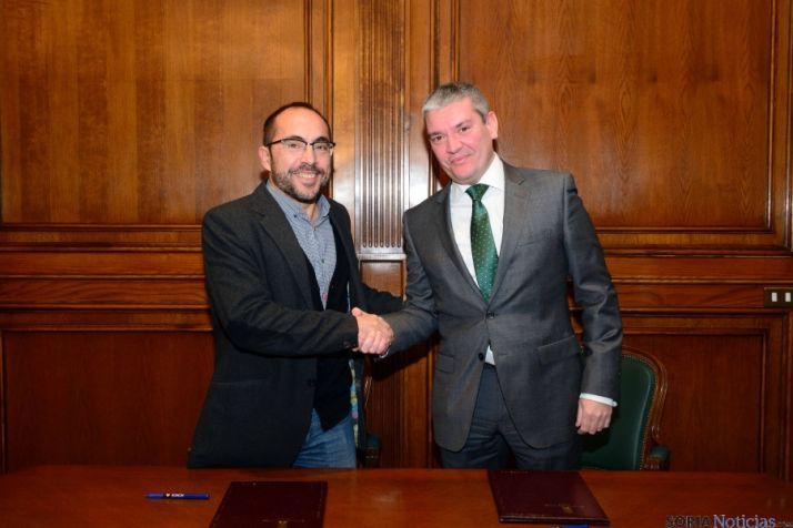 Luis Rey y Miguel Ángel Gómez