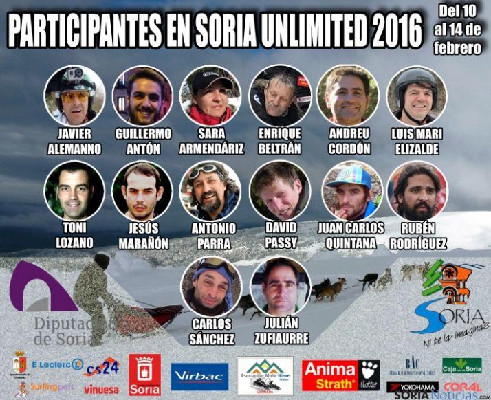 Foto 1 - 13 españoles y un francés participan en la Soria Unlimited 2016