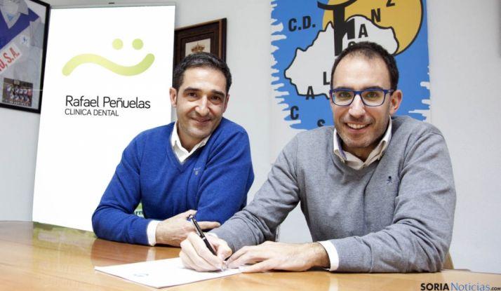 Vicente Gonzalo (izda.) y Rafael Peñuelas.