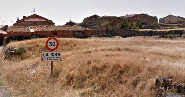 Entrada a la Riba de Escalote en una imagen de archivo. / GM