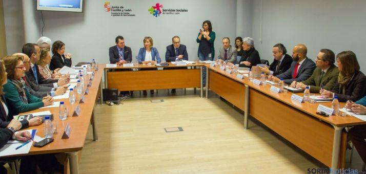 Sección de Atención a la Discapacidad del Consejo de Servicios Sociales de la región./Jta.