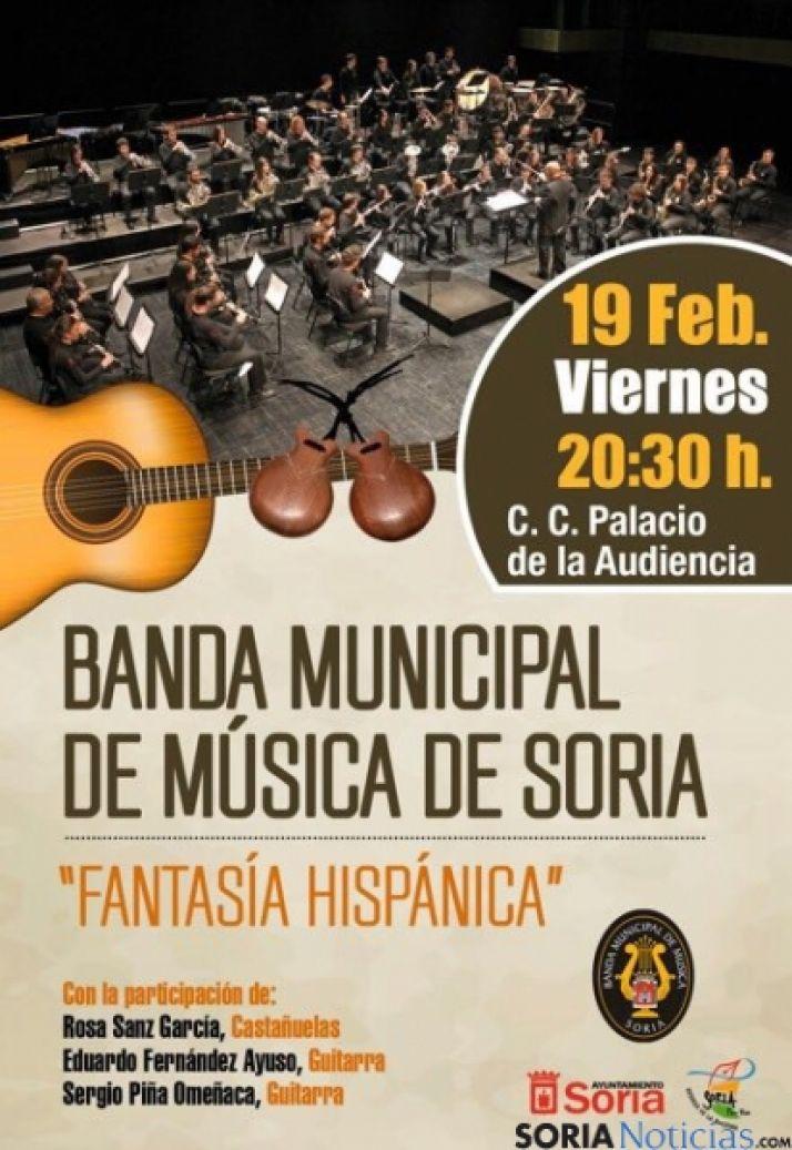 Concierto de la Banda Municipal de Soria este viernes 19