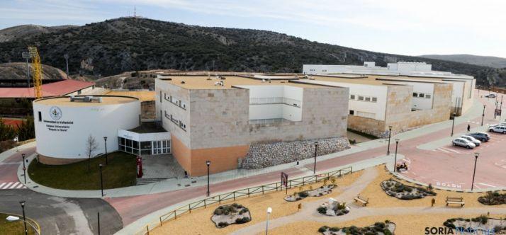 Imagen del Campus Universitario de Soria, en el barrio de Los Pajaritos. / SN