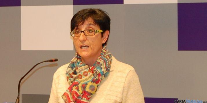 Delgado, diputada de Servicios Sociales./SN