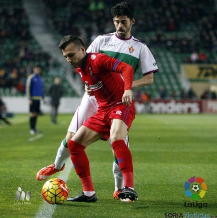 Foto 1 - Nuevo empate del Numancia en Elche (0-0)