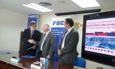 Firma del convenio entre la UVa y FOES.