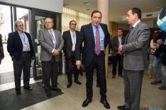 Foto 2 - Saez Aguado ve razonable que los enfermos sorianos de cáncer tengan un piso de acogida en Logroño