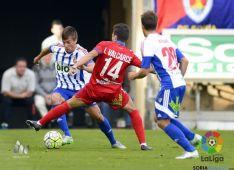El Numancia ganó en la ida, en Los Pajaritos, por un gol a cero.
