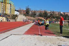 Los Pajaritos ha acogido hoy esta primera jornada de atletismo en pista.