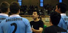 Alfonso Flores, en su etapa de técnico en Soria.