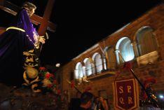 El Cristo encara la calle Arco./SN