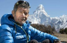 Carlos Soria, en una de sus expediciones./BBVA