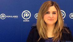 Eva García, concejal del PP en la capital.