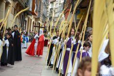 Foto 5 - Los niños protagonizan la procesión de la Borriquilla que inicia la Pasión