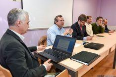 Reunión de militantes y cargos electos de Ciudadanos. /Ana Isla